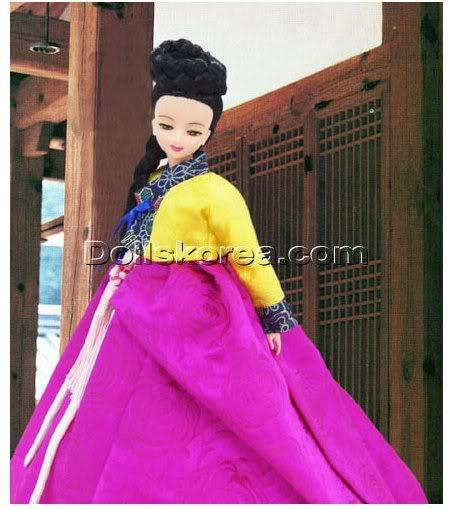 Geleneksel Kıyafetlerle Kore Oyuncak Bebekleri - Sayfa 2 71-1