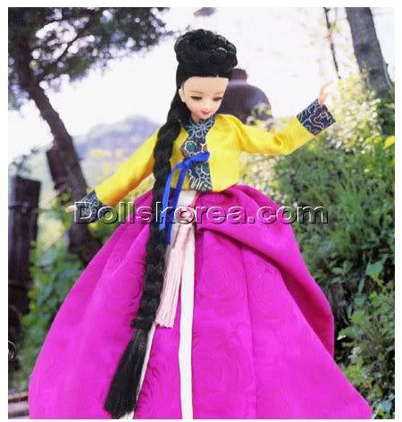 Geleneksel Kıyafetlerle Kore Oyuncak Bebekleri - Sayfa 2 72-2