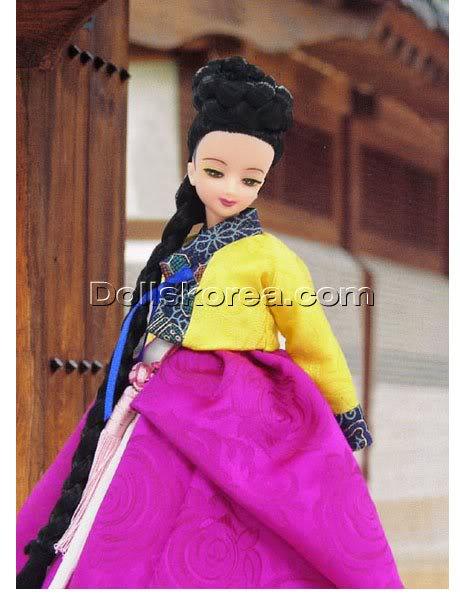 Geleneksel Kıyafetlerle Kore Oyuncak Bebekleri - Sayfa 2 73-1