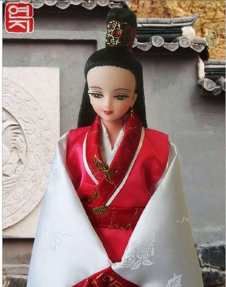 Geleneksel Kıyafetlerle Kore Oyuncak Bebekleri - Sayfa 2 75-1