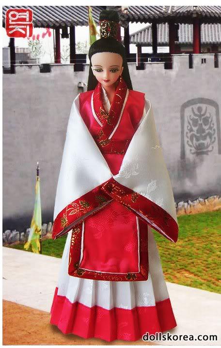 Geleneksel Kıyafetlerle Kore Oyuncak Bebekleri - Sayfa 2 77-1