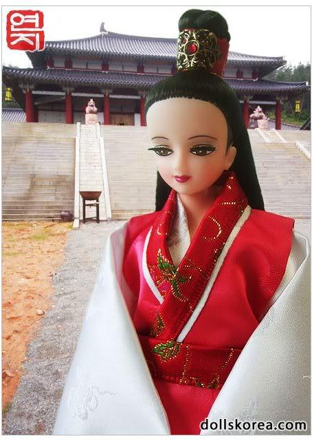 Geleneksel Kıyafetlerle Kore Oyuncak Bebekleri - Sayfa 2 78-1