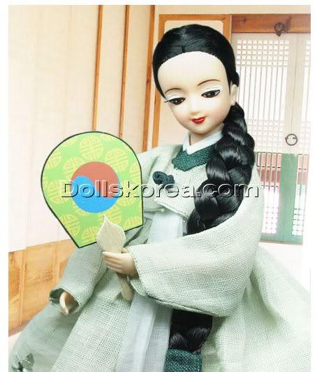 Geleneksel Kıyafetlerle Kore Oyuncak Bebekleri - Sayfa 2 80-1