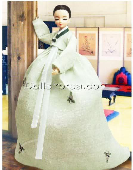 Geleneksel Kıyafetlerle Kore Oyuncak Bebekleri - Sayfa 2 82-1