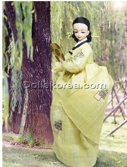 Geleneksel Kıyafetlerle Kore Oyuncak Bebekleri - Sayfa 2 84