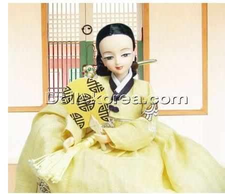 Geleneksel Kıyafetlerle Kore Oyuncak Bebekleri - Sayfa 2 85