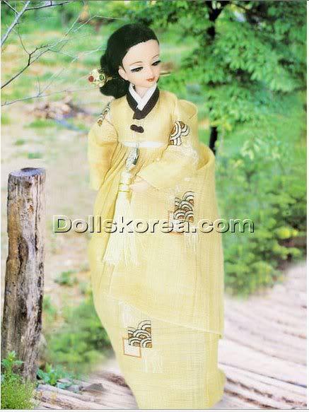 Geleneksel Kıyafetlerle Kore Oyuncak Bebekleri - Sayfa 2 86