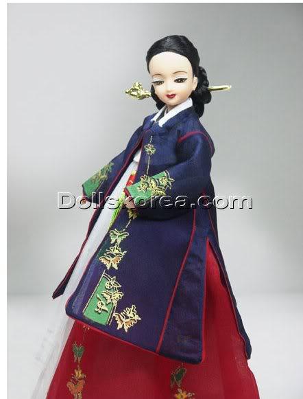 Geleneksel Kıyafetlerle Kore Oyuncak Bebekleri - Sayfa 2 97