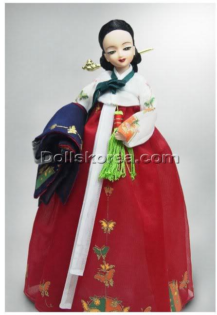 Geleneksel Kıyafetlerle Kore Oyuncak Bebekleri - Sayfa 2 98