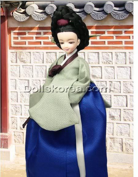 Geleneksel Kıyafetlerle Kore Oyuncak Bebekleri - Sayfa 2 99