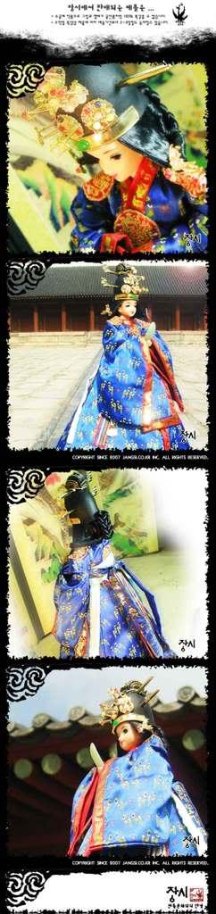 Geleneksel Kıyafetlerle Kore Oyuncak Bebekleri Aaaaaaaa2