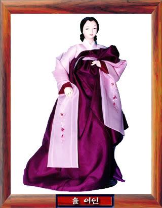 Geleneksel Kıyafetlerle Kore Oyuncak Bebekleri Gal04