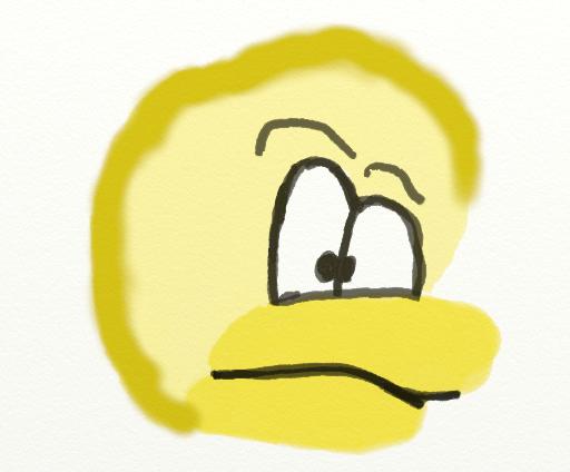 Mes dessins Partie 2 : La tablette Graphique ! Canard