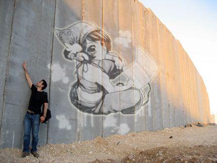 Tag sur mur Murcopie