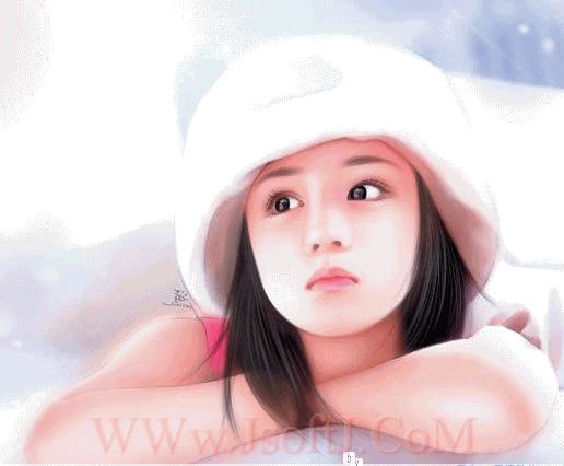 ((((صور بنات لكن رسمممم)))) Anime13