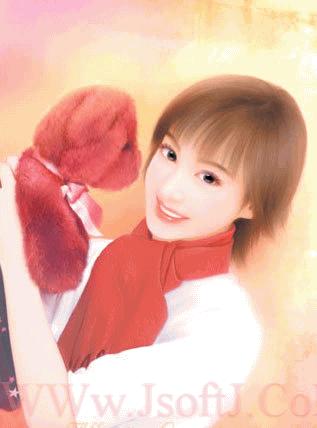 ((((صور بنات لكن رسمممم)))) Anime4
