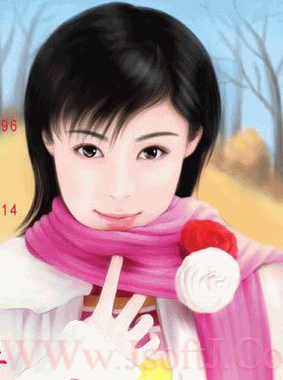 ((((صور بنات لكن رسمممم)))) Anime7