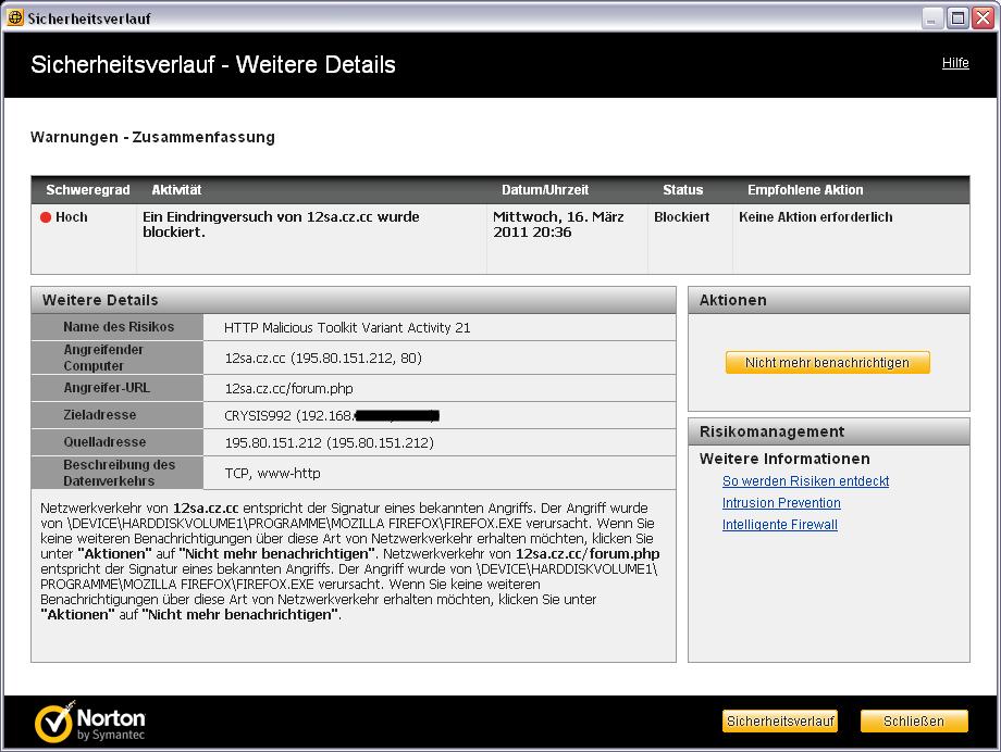 [Warnung] Eine Warnung vor fileden.com  Warnung