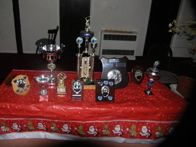Presentation Night 2009 Trophies