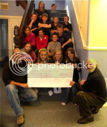 Charity Presentation Cheque1