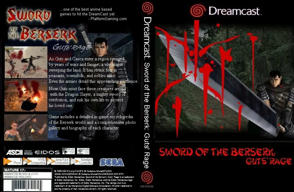 Berserk 25/25 Sword_Of_The_Berserk_Guts_Rage_ntsc