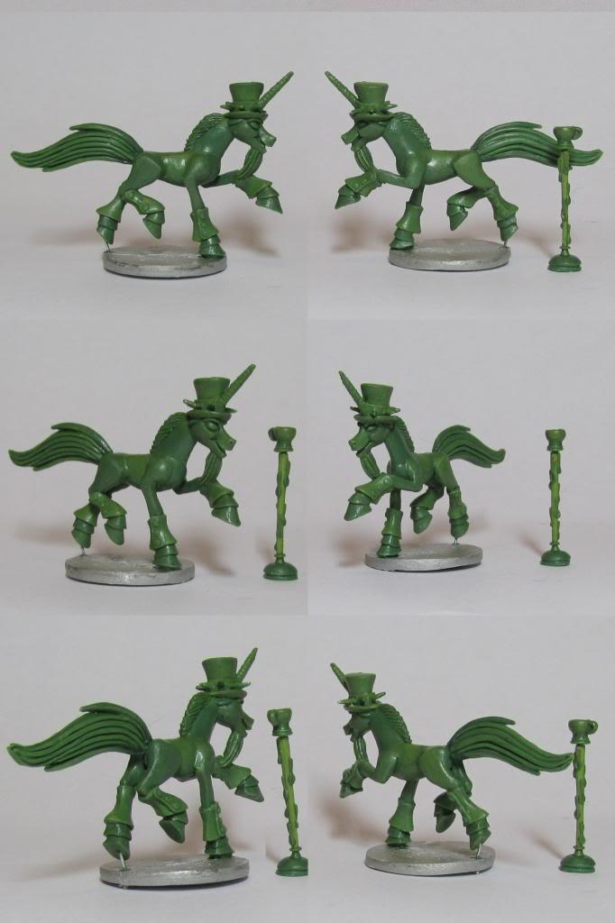 Pewter Ponies, little gaming sculptures on Kickstarter LysnoiPozharunicornfiresorcerer_zps87cefbd9
