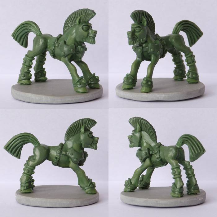 Pewter Ponies, little gaming sculptures on Kickstarter Barbarianx4_zpsf1f98d8f