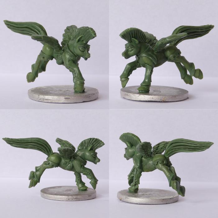 Pewter Ponies, little gaming sculptures on Kickstarter Thiefx4_zps088dca97