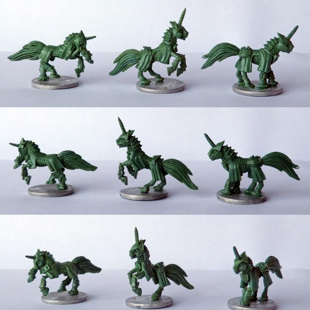 Pewter Ponies, little gaming sculptures on Kickstarter KnightsFA_zpsdfc86333
