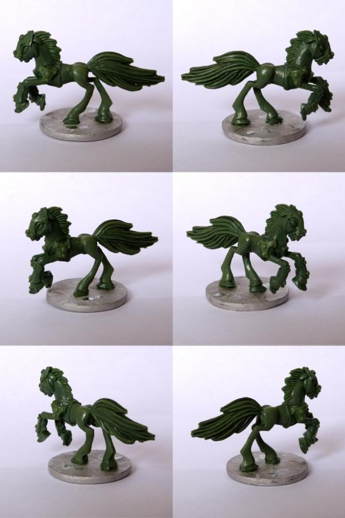 Pewter Ponies, little gaming sculptures on Kickstarter Flankandfile_zps942adffd