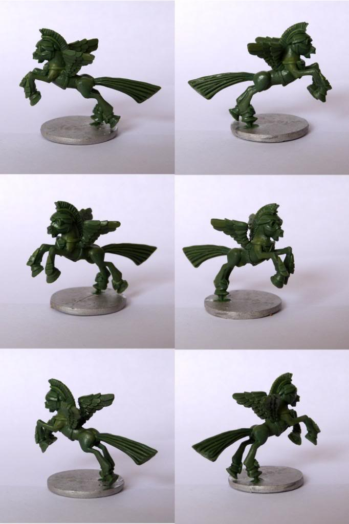 Pewter Ponies, little gaming sculptures on Kickstarter Legionofluno_zps149268ef