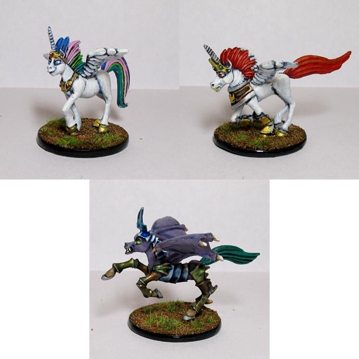 Pewter Ponies, little gaming sculptures on Kickstarter Cornulaegroup2_zpsa52c83bc