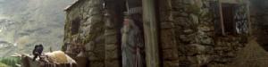 Cabaña de Hagrid.
