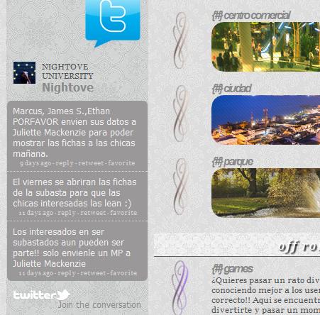 ¿como poner la barra de Twitter en los widgets? Twit