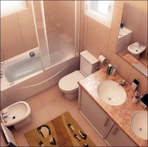 Banheiro Banheiro-pequeno-com-banheira