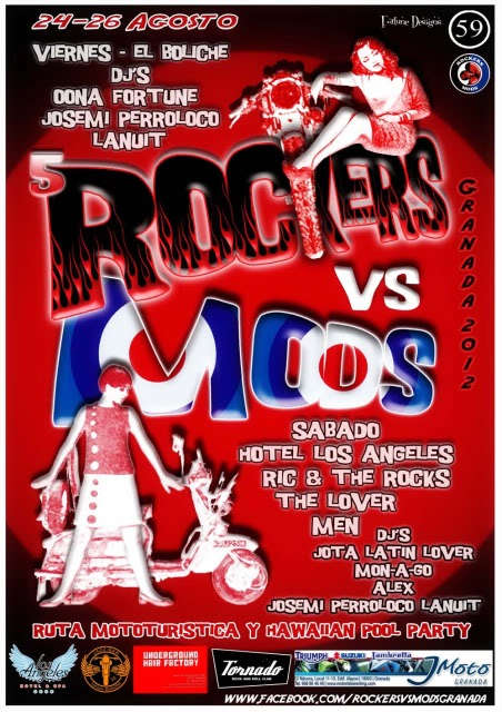 V ROCKERS VS MODS GRANADA RVM2012flyer