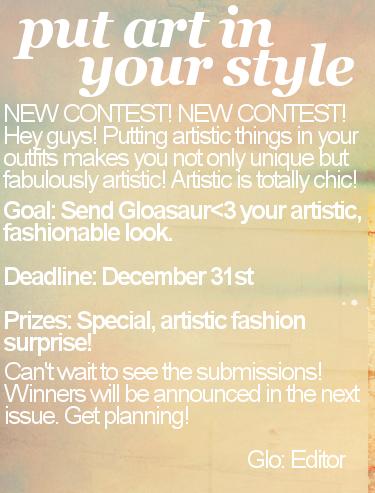 Glamour Magazine // Issue 1 Artinurstyle