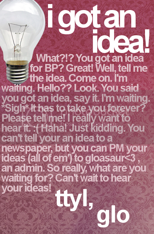 Bearville Place Newspaper // Issue 1 Ideas-1