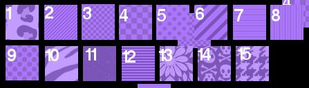 { Glo's G r a p h i c s } ♥ Patterns