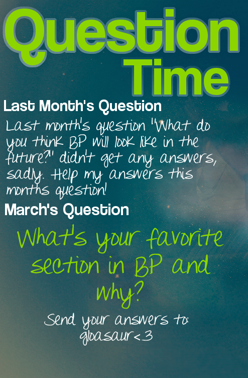 Bearville Place Newspaper // Issue 2 Questiontime