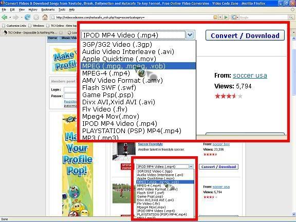 cara download video 3