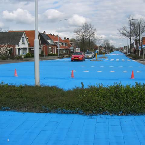Con đường kì lạ sắc xanh Blueriver4