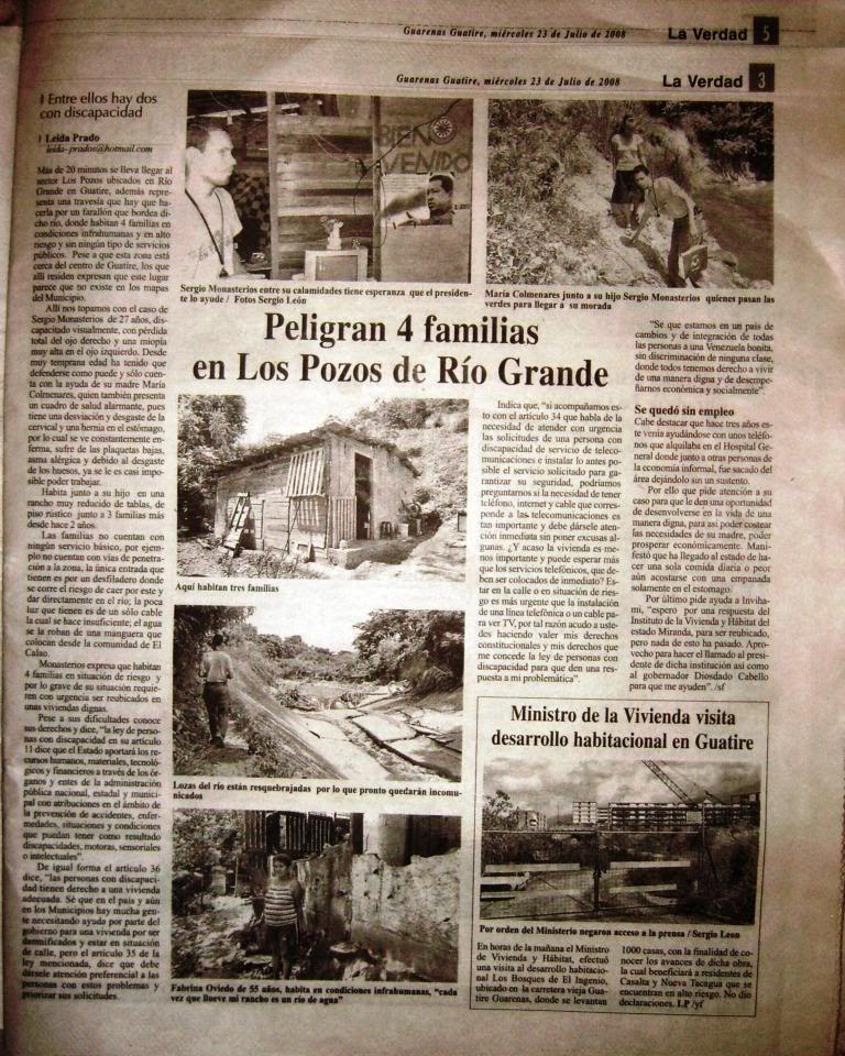 por favor AYUDA Prensa