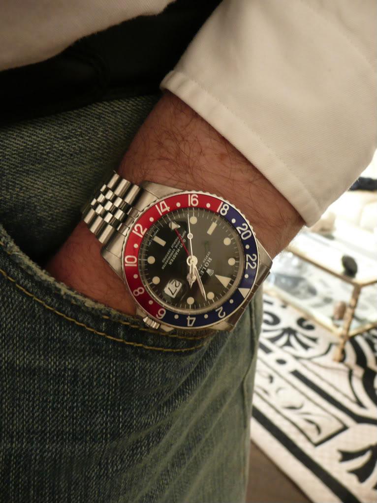 Vds Rolex 1675 sur jubilé 3990 euros RESERVEE 5513CUIR335