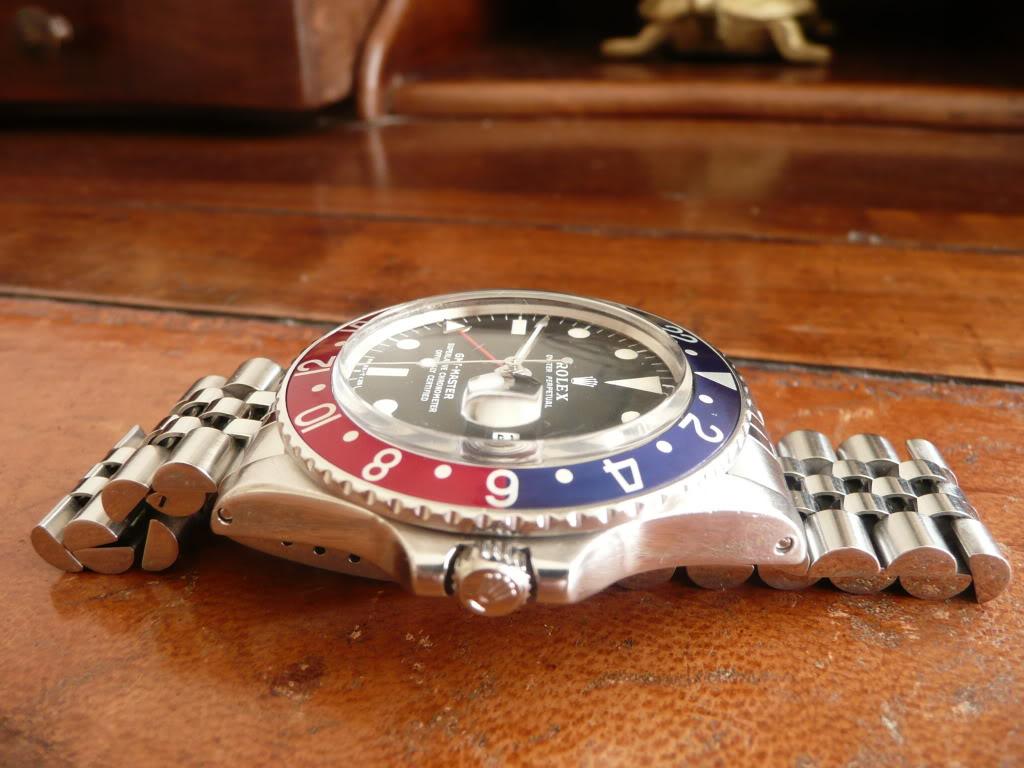 Vds Rolex 1675 sur jubilé 3990 euros RESERVEE 5513CUIR362