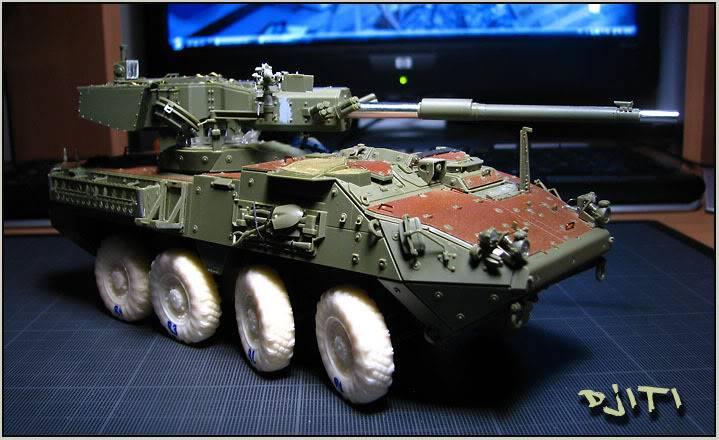 Stryker M-1128 MGS (mobile gun system) IMG_3582copie