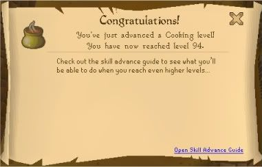 Luke's Level Log and other st00f 94cooking