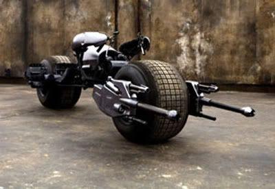 Fixit's Air Bike Batcycle