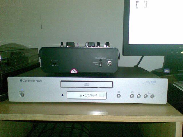 O stereo cá de casa (em metamorfose) 03032010