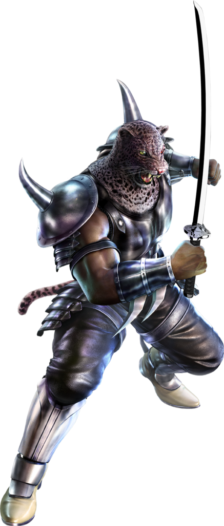 Tekken 6 Sword men's renders Armorking